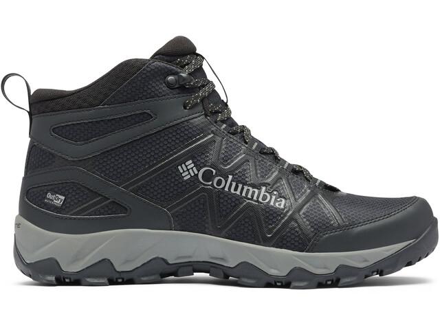Columbia Peakfreak X2 Outdry Chaussures Mi-Hautes Homme, black/dark pewter